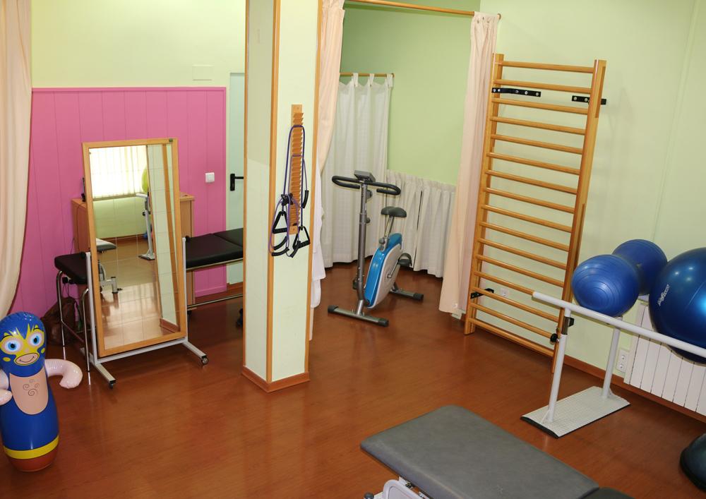 sala de fisioterapia